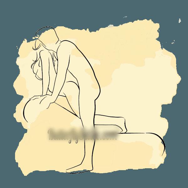 tư thế quan hệ tuyệt vời trên ghế tình yêu