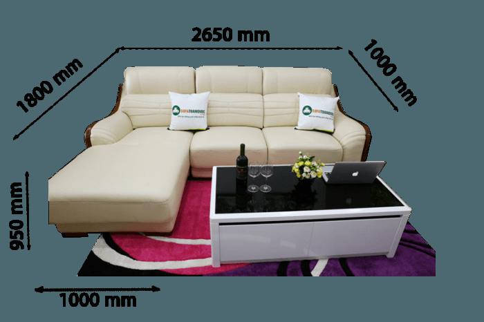 mẫu sofa cỡ nhỏ cho chung cư mini