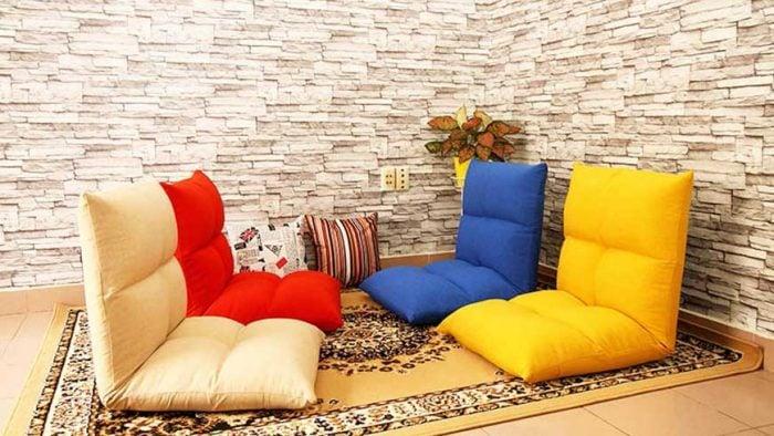 Những mẫu sofa bệt thường dùng trong quán cafe, trà sữa tuổi teen