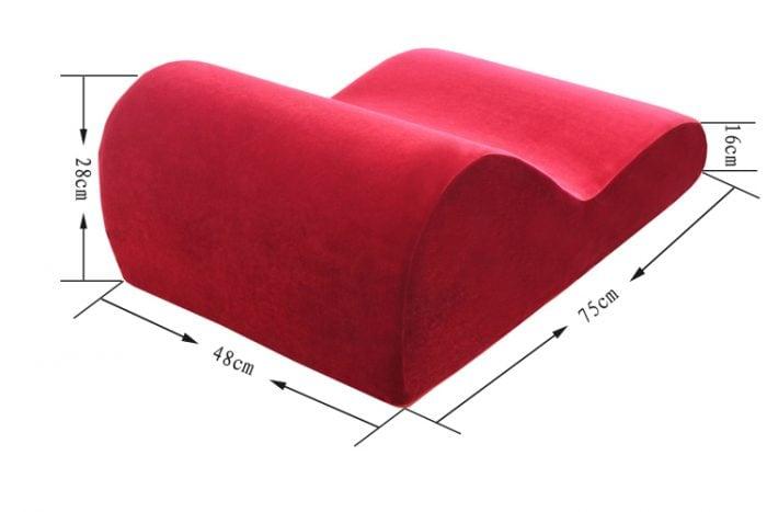 Kích thước ghế tình yêu Hebes