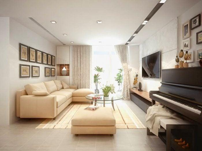 Giá thiết kế nội thất chung cư khá đa dạng, khách hàng có thể tham khảo nhiều địa chỉ khác nhau để có mức giá phù hợp
