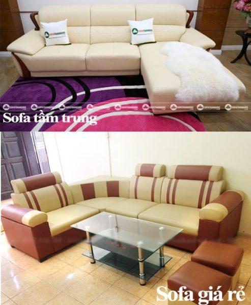 bộ ghế sofa giá rẻ dưới 3 triệu