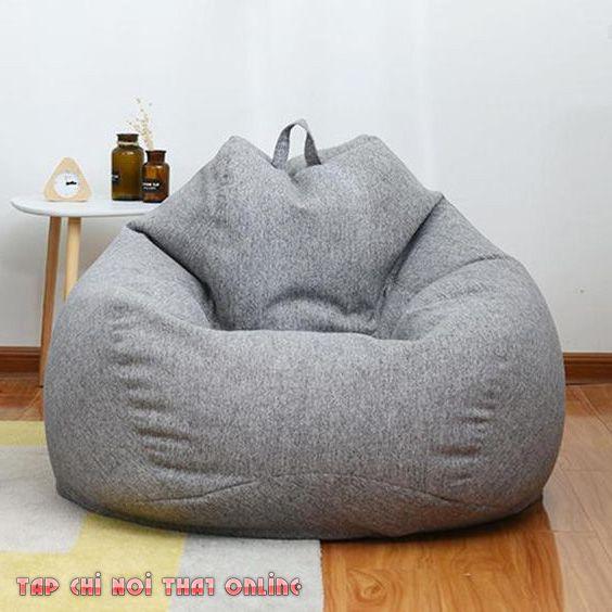 Sofa bệt dạng túi đẹp mắt kiểu dáng khỏe khoắn. Sử dụng hoặc bảo quản cũng khá dễ dàng và nhanh chóng.