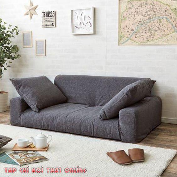 sofa phòng khách dạng bệt