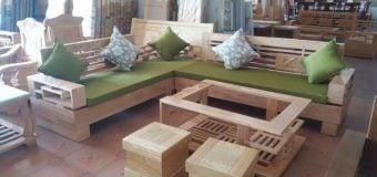 Có nên sử dụng sofa gỗ đệm hay không?
