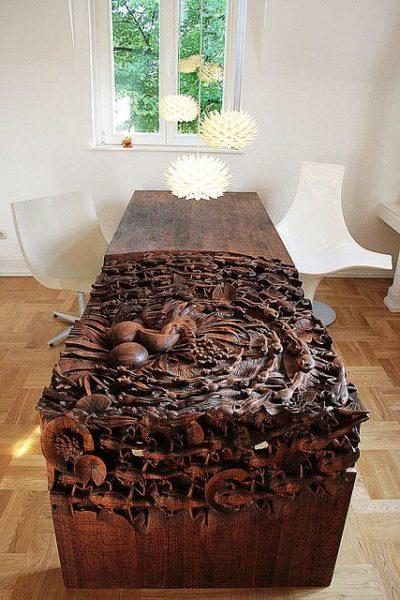ưu điểm bàn trà sofa gỗ