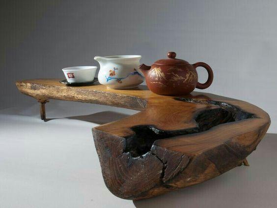 bàn trà phong cách Nhật độc đáo