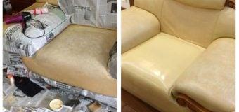 Hô biến ghế sofa bị rách phục hồi như lúc đầu trong 30 phút