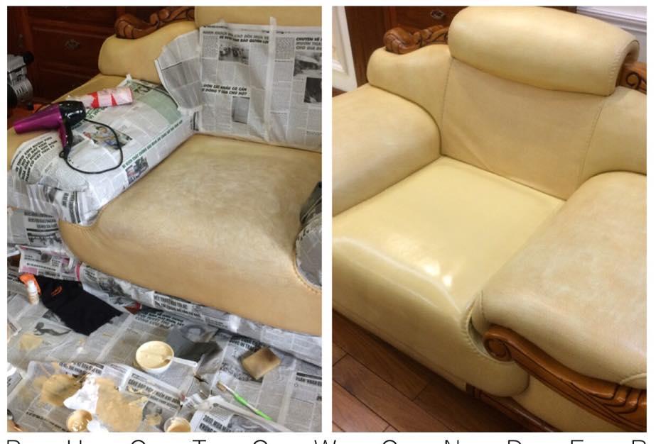 cách xử lý khi ghế soFa bị cũ và rách