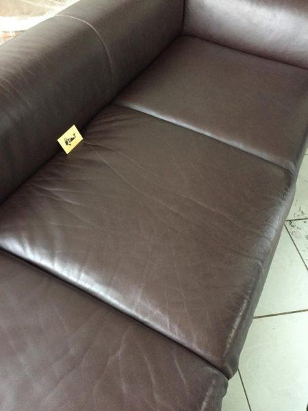 Xử lý xong trông như bộ sofa mới tinh