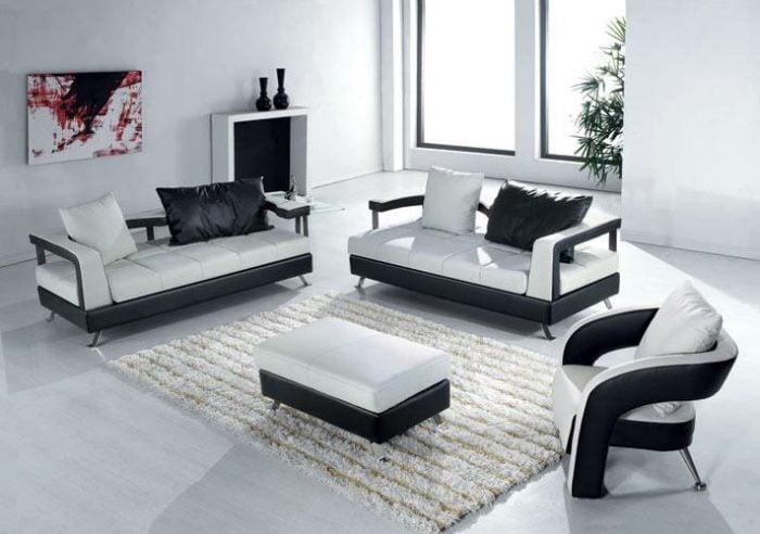 sofa hiện đại trong căn phòng hiện đại