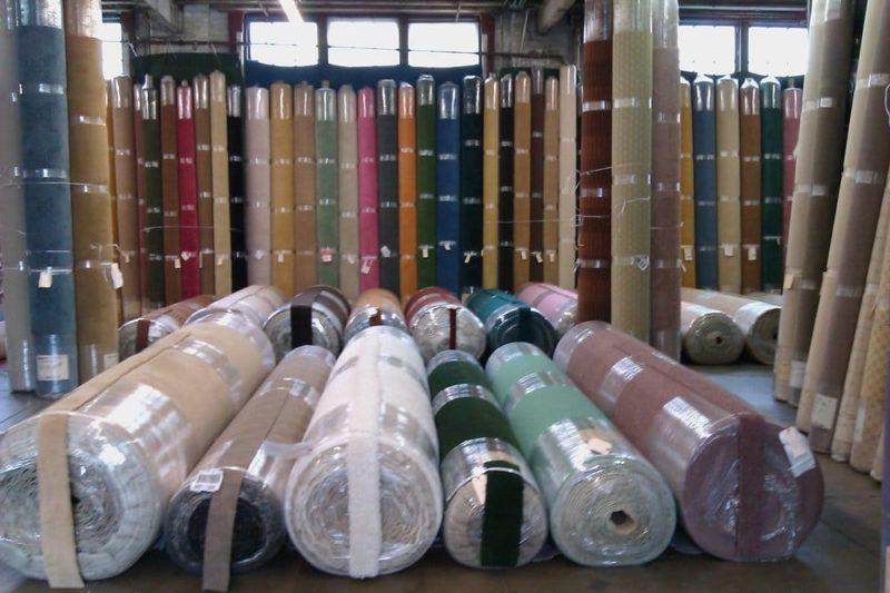 Kho mẫu vải da của Sofa Toàn Quốc với rất nhiều mẫu mã đa dạng.