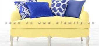5 cách tạo điểm nhấn cho sofa bằng gối ôm cực xì teen