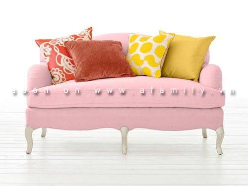 5 cách trang trí sofa với gối ôm sofa