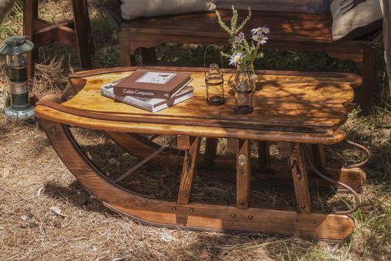 bàn trà xe kéo hình gỗ sồi đẹp và sang