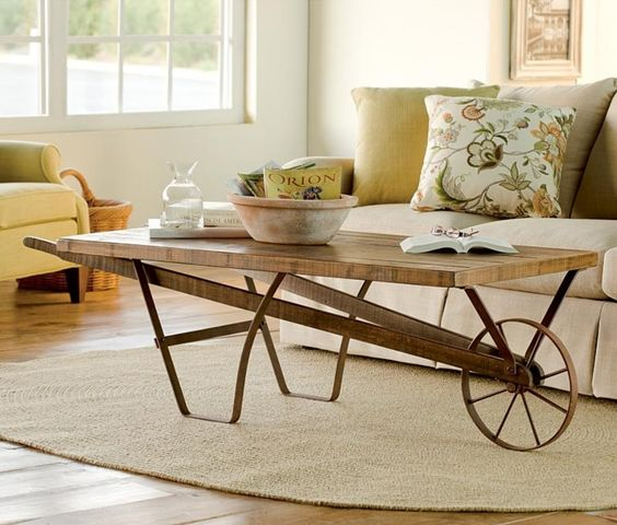 bàn trà xe kéo đẹp
