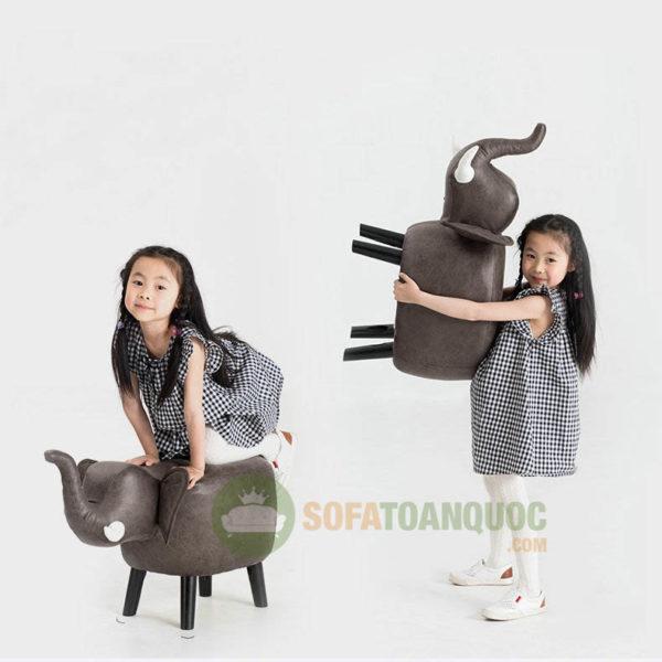 sofa mini cho bé hình con voi