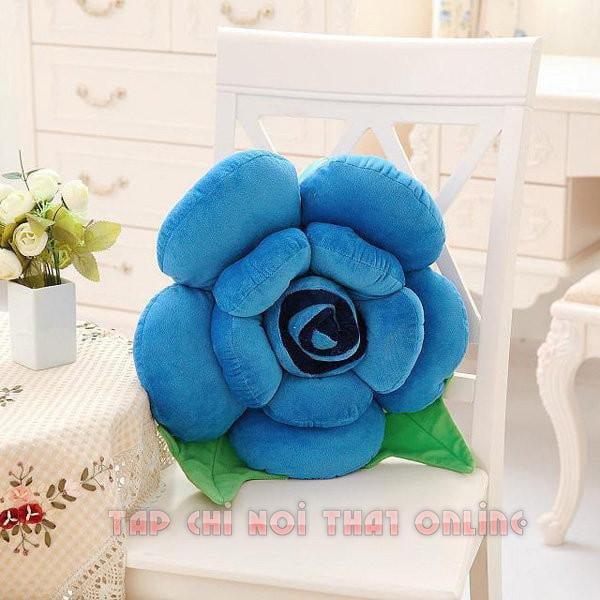 gối ôm sofa hình bông hoa đẹp