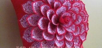 10 mẫu gối sofa hoa đẹp hết nấc cho bộ sofa phòng khách thêm xinh