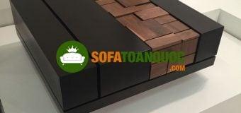 Bàn trà gỗ hiện nay được làm bằng gỗ gì?