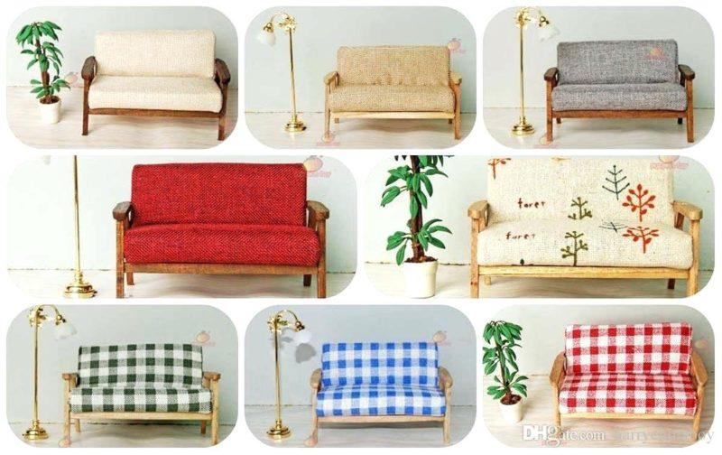 sofa cho ghế búp bê
