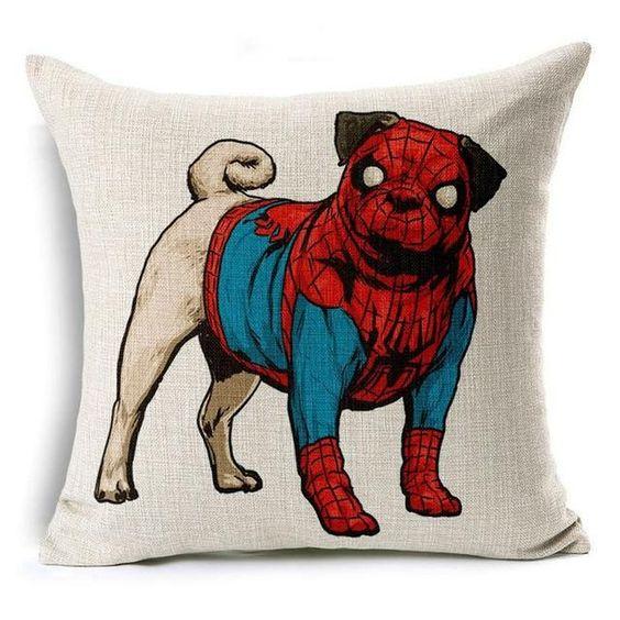 gối ôm người nhện cosplay