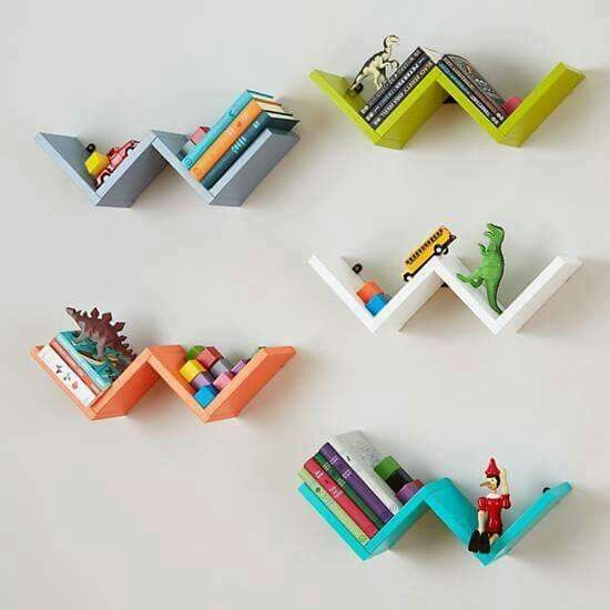 kệ sách nhỏ hình cánh cò bay