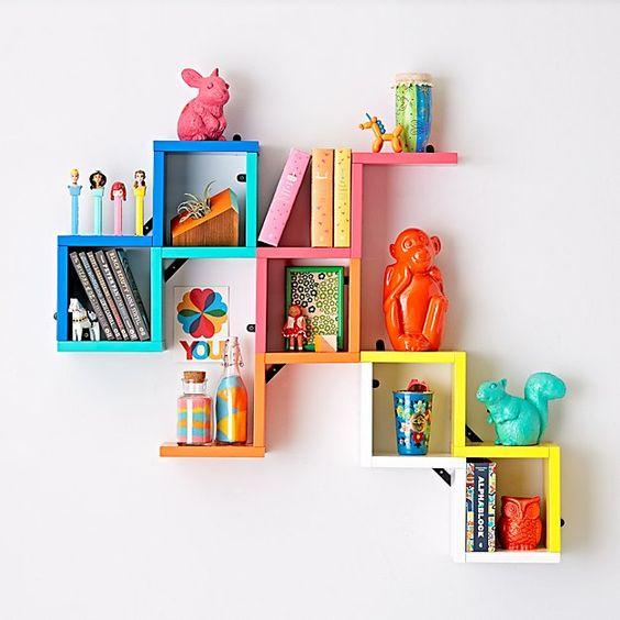 kệ sách nhỏ mini dính trên tường