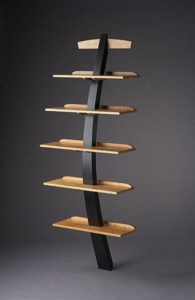kệ sách gỗ 5 tầng thẩm mỹ