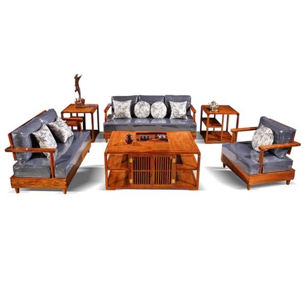 ghế sofa gỗ sồi đẹp