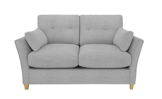 ghế sofa đôi 2 chỗ màu xám đẹp