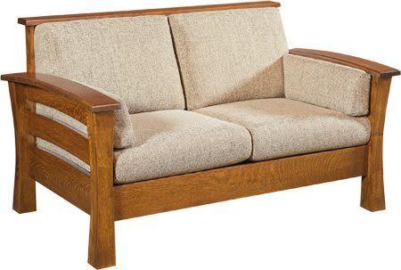 ghế sofa gỗ 2 chỗ đẹp