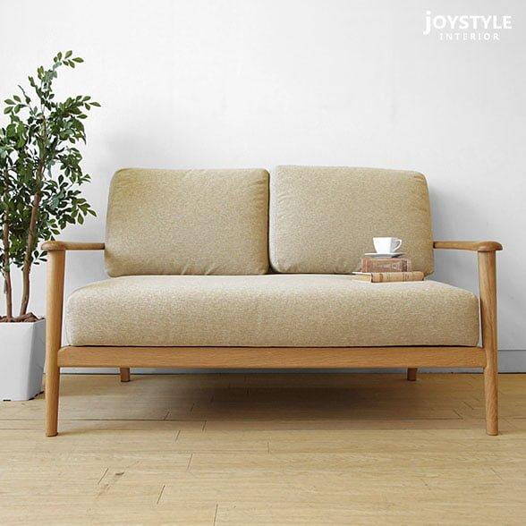 ghế sofa văng gỗ sồi dài 136cm