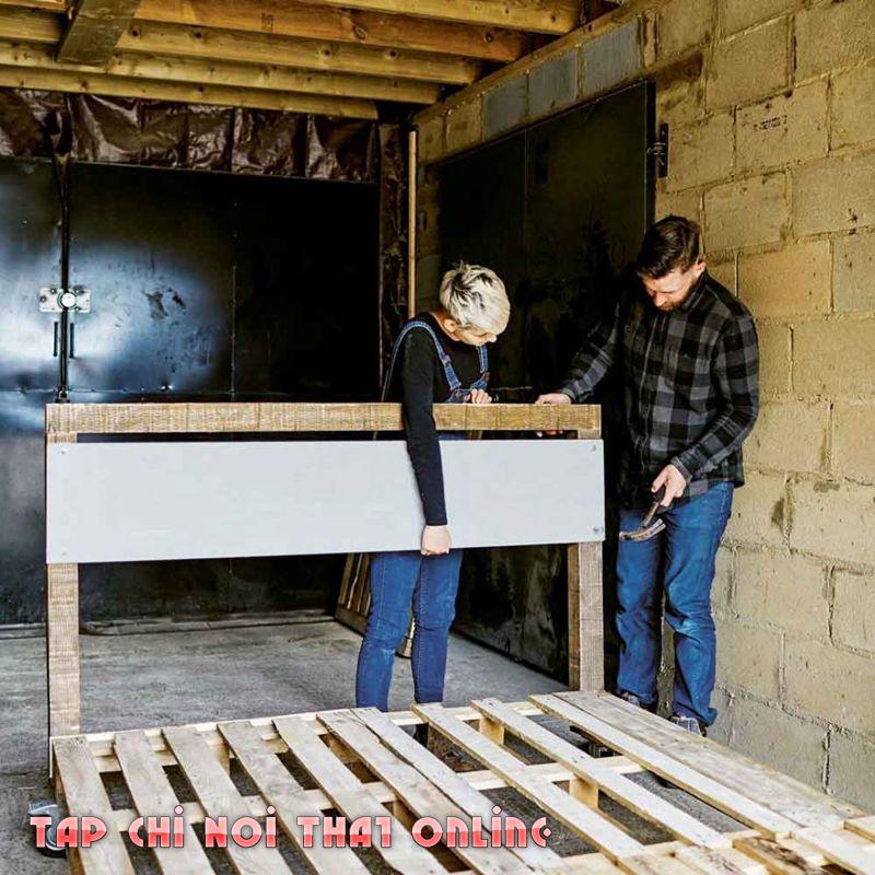 cách làm giương fngur đẹp bằng gỗ pallet