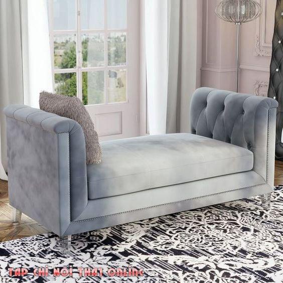 ghế sofa đôn dài cho phòng ngủ