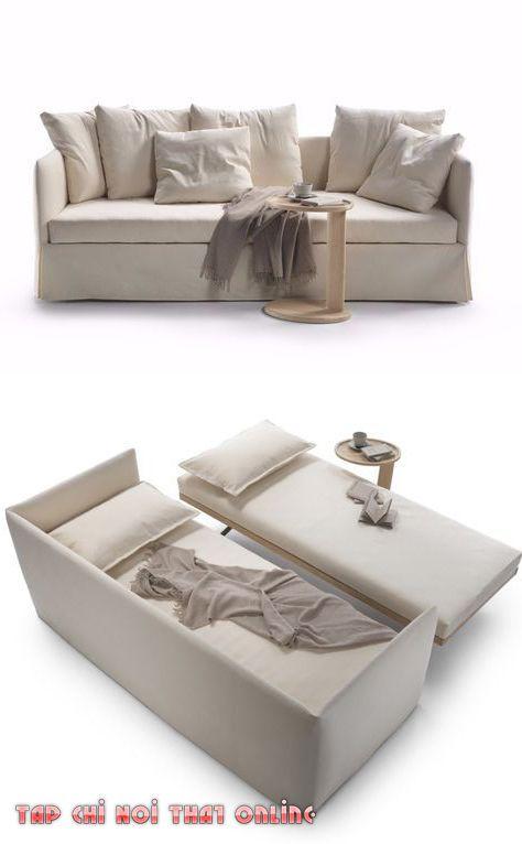ghế sofa kéo ra thành giường ngủ
