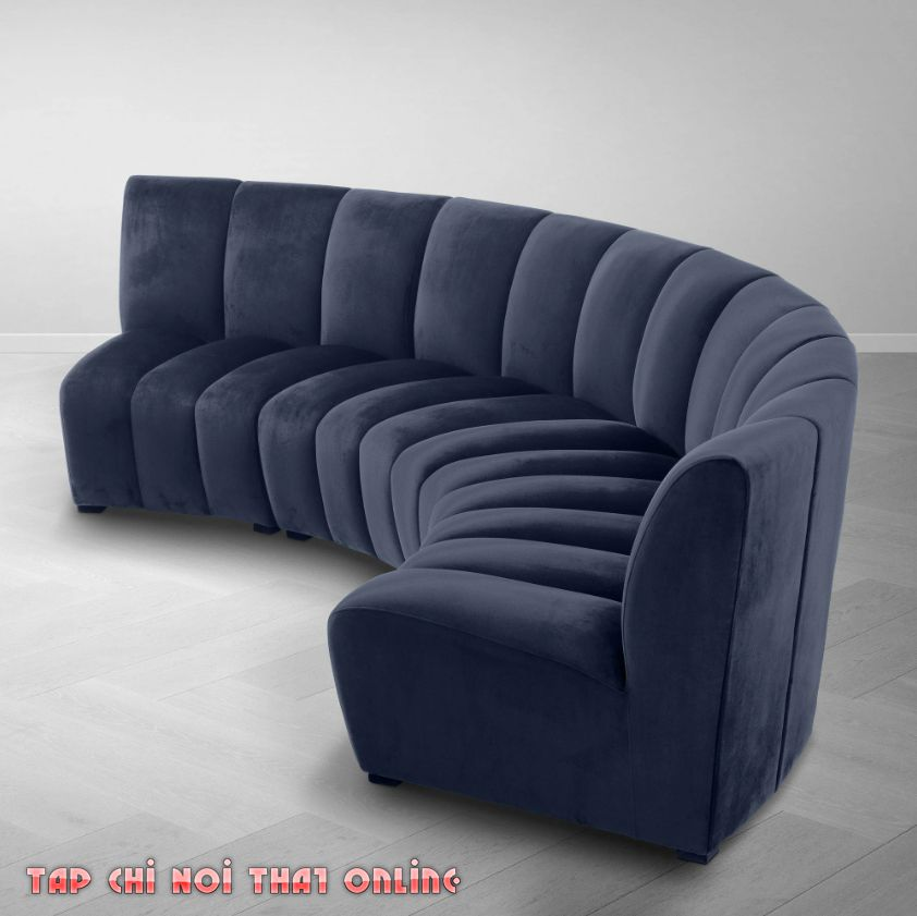 ghế sofa cong đơn giản