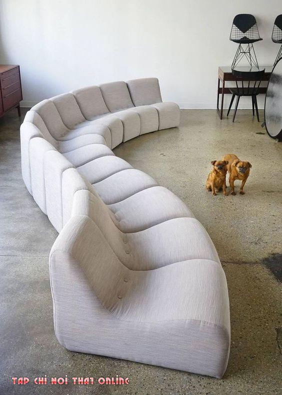 ghế sofa cong chữ s