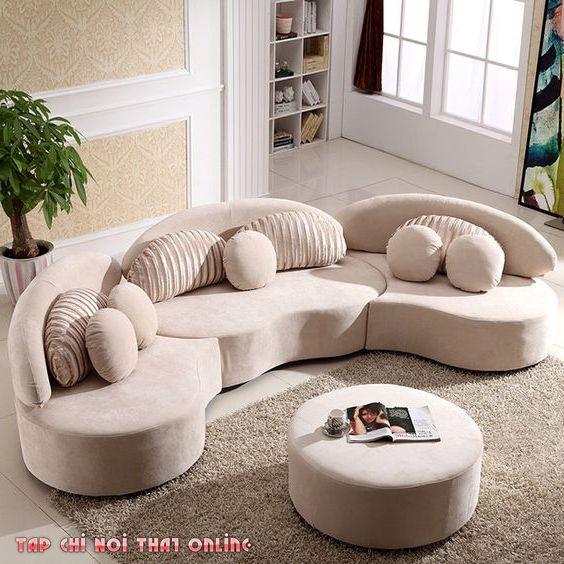 ghế sofa cong theo bộ