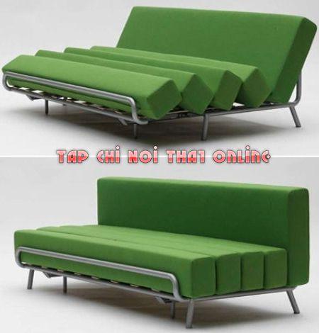 ghế sofa giường 1m2 khung sắt