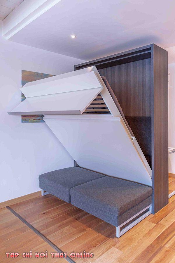 ghế sofa giường 1m2 thông minh