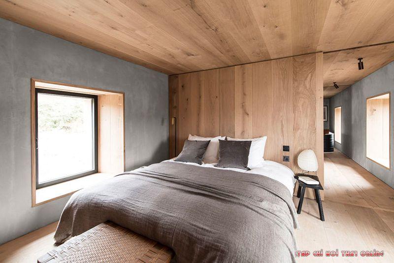 phòng ngủ phong cách bắc âu nodric style