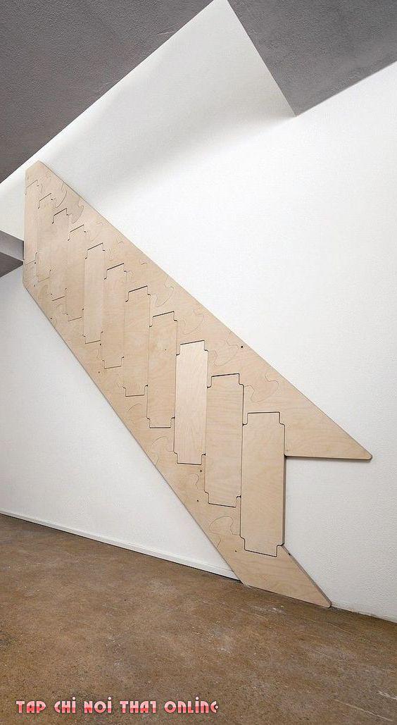 cầu thang tối ưu diện tích