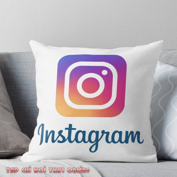 gối tựa lưng sofa instagram