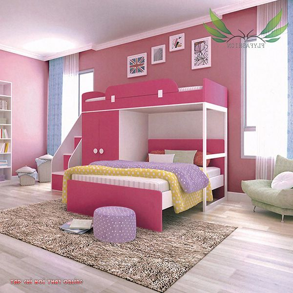 giường ngủ trẻ em 2 tầng