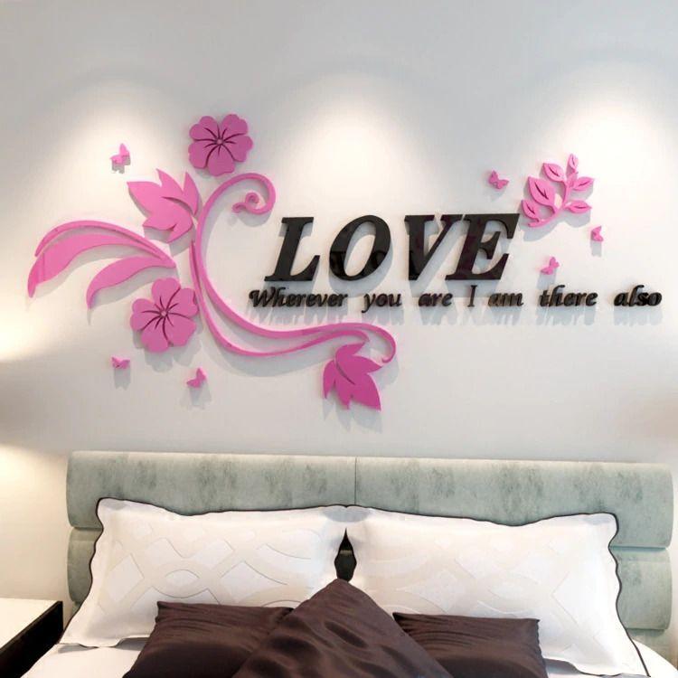 tranh dán tường phòng ngủ vợ chồng